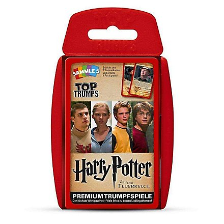 Harry Potter - Top Trumps Harry Potter und der Feuerkelch Kartenspiel