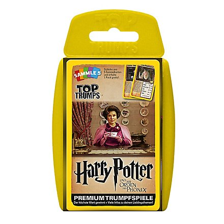 Harry Potter - Top Trumps Harry Potter und der Orden des Phönix Kartenspiel