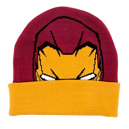 Iron Man - Beanie mit Logo