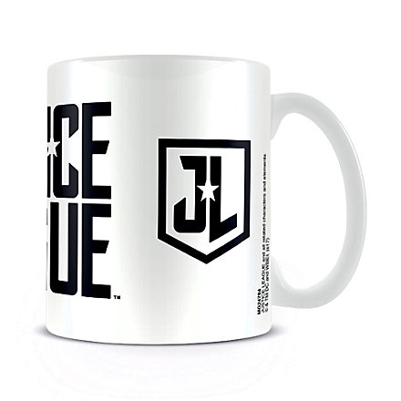 Justice League - Tasse Logo Stencil