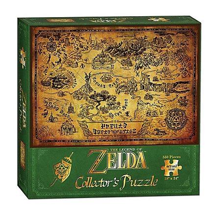Legend of Zelda - Puzzle Karte von Hyrule