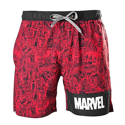 Marvel - Badeshorts Storyboard