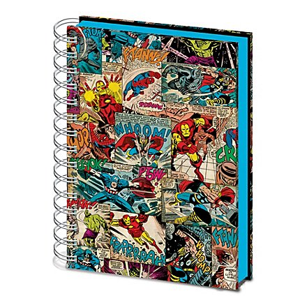 Marvel - Notizbuch Comic