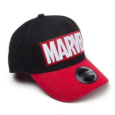 Marvel - Red Brick Logo Curved Bill Cap