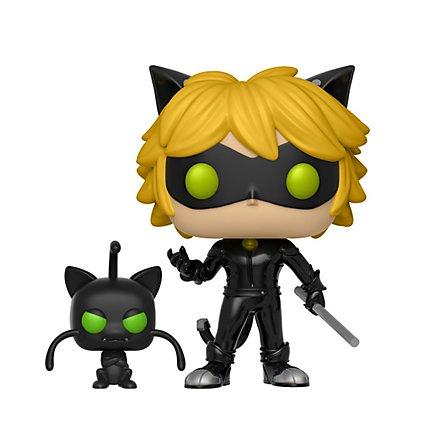 Miraculous - Cat Noir mit Plagg Funko POP! Figur