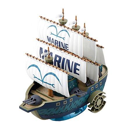 n.a. One Piece - Modellbausatz Marine Schiff