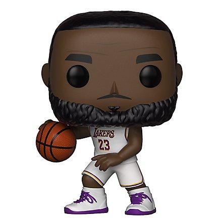 new product 6cf95 76d68 NBA - L.A. Lakers Lebron James im weißen Trikot Funko POP! Figur