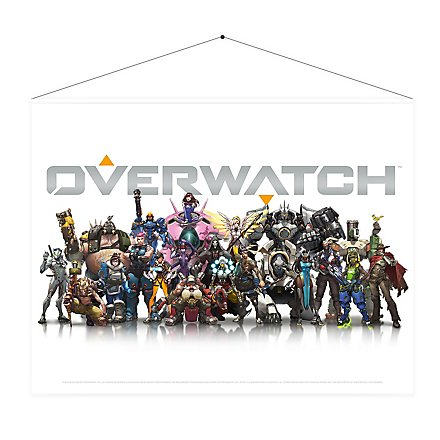 Overwatch - Wandrolle Helden
