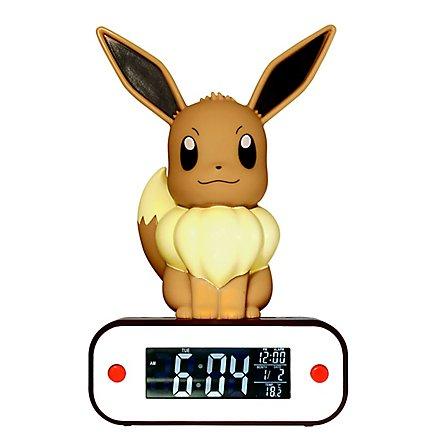 Pokémon - Evoli Wecker mit Leuchtfunktion