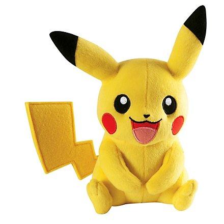 Pokémon - Plüschfigur Pikachu sitzend