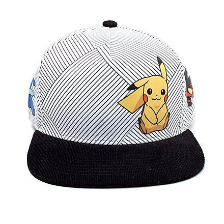 Pokémon - Sun & Moon Starting Characters Snapback Cap