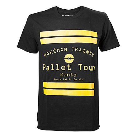 Pokémon - T-Shirt Pallet Town