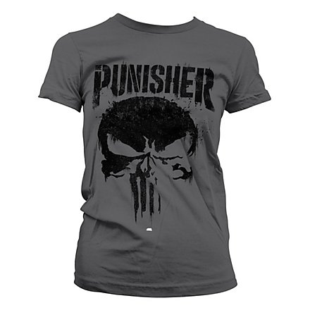 Punisher - Girlie Shirt Schädel