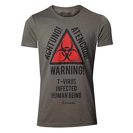 Resident Evil - T-Shirt Warning
