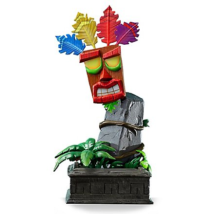 Retro Games - Mini Aku Aku aus Crash Bandicoot Mask Statue