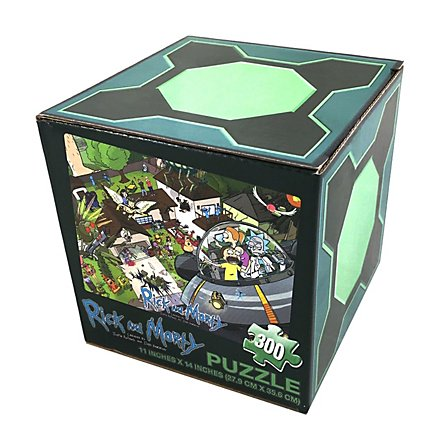 Rick and Morty - Puzzle Lootchest Exclusive