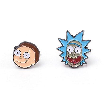 Rick and Morty - Rick & Morty Manschettenknöpfe