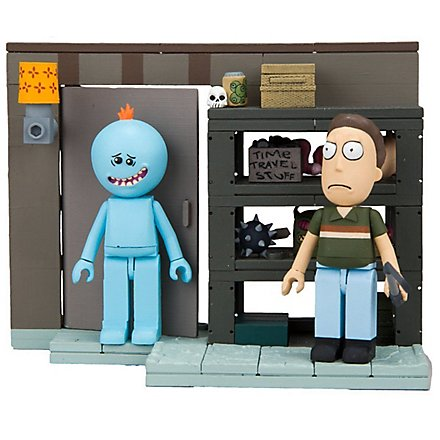 "Rick & Morty - Bauset ""Smith Family Garage Rack"""