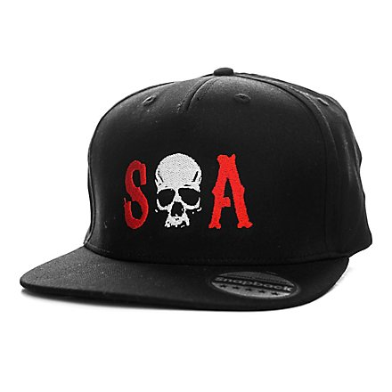 Sons of Anarchy - Snapback Cap Totenkopf