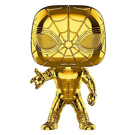 Spider-Man - Iron Spider (Gold Chrome) Funko POP! Wackelkopf Figur