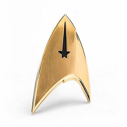 Star Trek - Replik Sternenflottenabzeichen Kommando