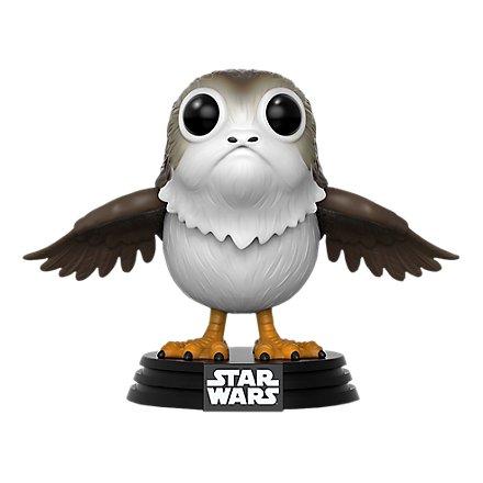 Star Wars 8 - Porg Funko POP! Wackelkopf Figur (Exclusive)