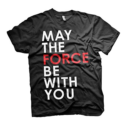 Star Wars 8 - T-Shirt May The Force Be With You