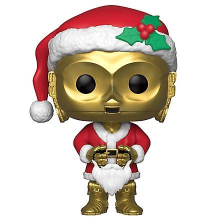 Star Wars - C-3PO als Santa Funko POP! Wackelkopf Figur