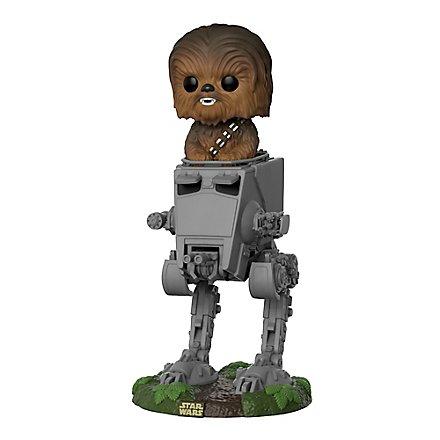 Star Wars - Chewbacca im AT-ST Funko POP! Figur Deluxe