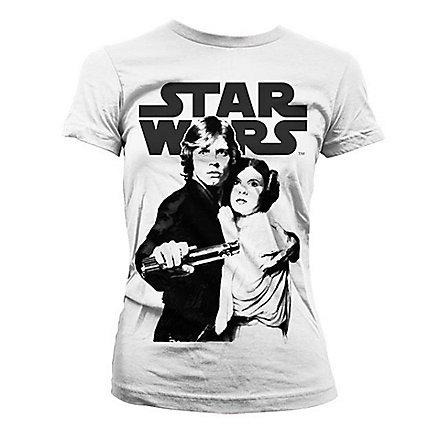 Star Wars - Girlie Shirt Vintage Poster