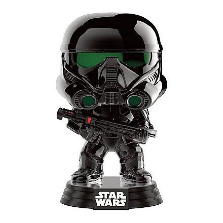 Star Wars - Imperial Death Trooper Wackelkopf-Figur Chromed aus Rogue One