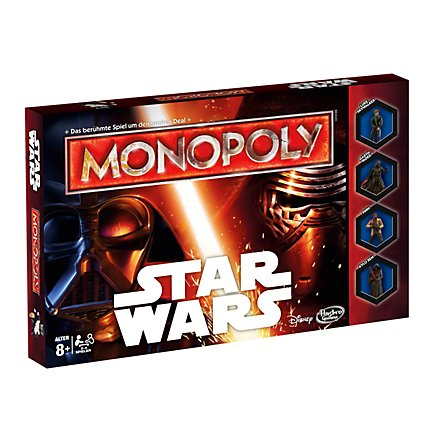Star Wars - Monopoly Brettspiel
