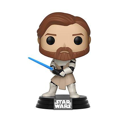 Star Wars - Obi Wan Kenobi Funko POP! Wackelkopf Figur aus Clone Wars