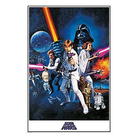 Star Wars - Poster Krieg der Sterne