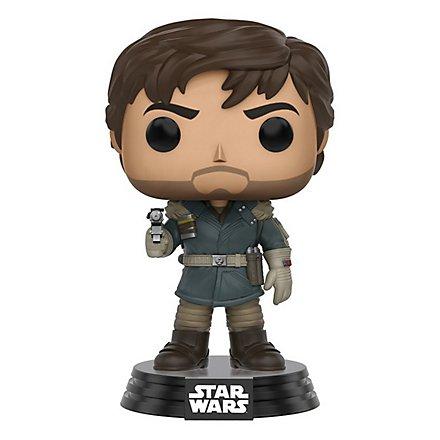 Star Wars: Rogue One - Captain Cassian Andor Funko POP! Wackelkopf Figur