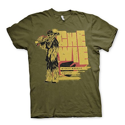 Star Wars: Solo - T-Shirt Chewie Mighty Wookiee