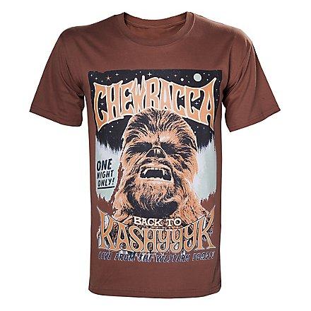 Star Wars - T-Shirt Chewbacca Poster