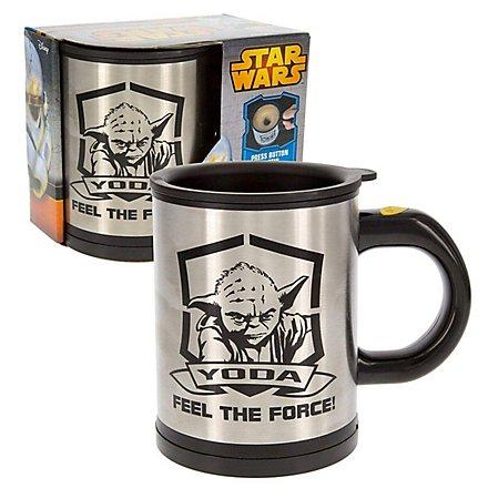 Star Wars - Tasse Yoda - Selbst-umrührend