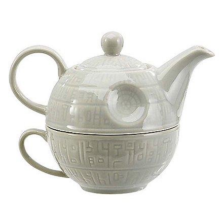 Star Wars - Teekanne mit Tasse Todesstern