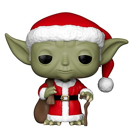 Star Wars - Yoda Santa Funko POP! Wackelkopf Figur