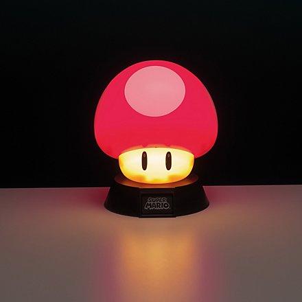 Super Mario - Lampe Power-Up Pilz
