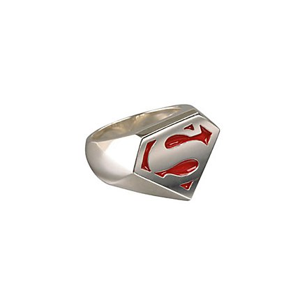 Superman - Sterling Signet Ring
