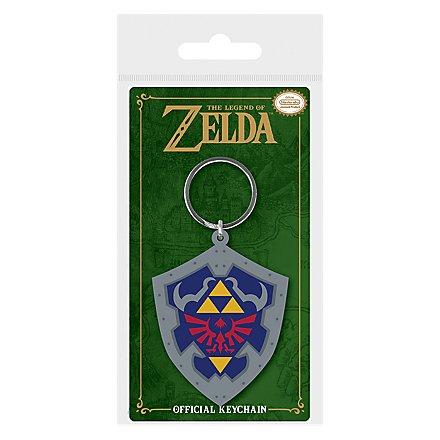 The Legend of Zelda - Hylia Schild Schlüsselanhänger aus Gummi