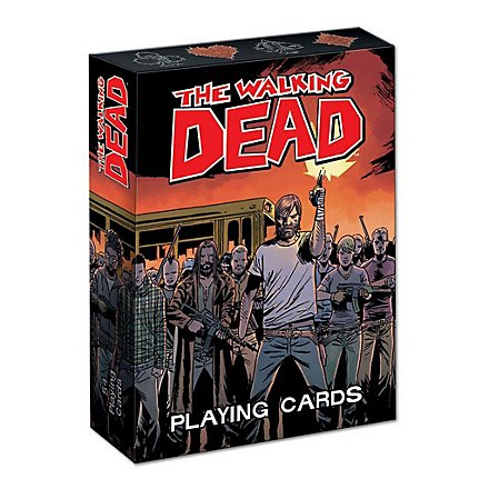 The Walking Dead - Spielkarten Comic Version