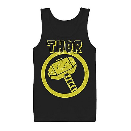 Thor - Tank Top Distressed Hammer