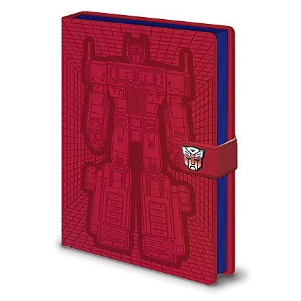Transformers - Premium Notizbuch Optimus Prime