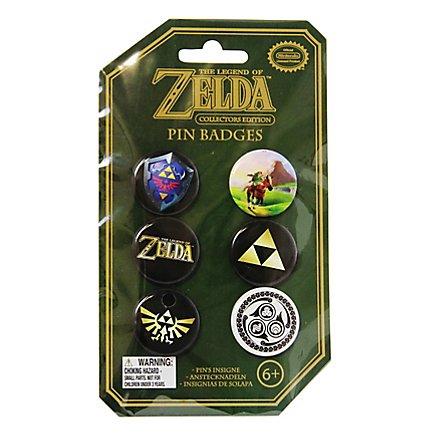 Zelda - Ansteck-Buttons 6er-Pack