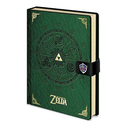 Zelda - Premium Notizbuch The Legend Of Zelda