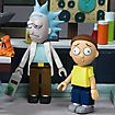 Rick and Morty - Bauset Spaceship & Garage