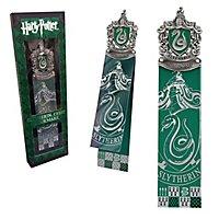 Harry Potter - Lesezeichen Slytherin Wappen